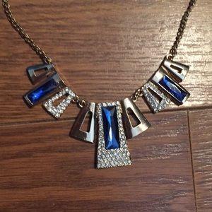 Stunning blue necklace